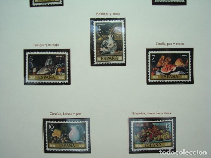 Sellos: COLECCIÓN LOTE DE SELLOS DE 1976,PINTORES,BODEGONES DE EUGENIO MENENDEZ.. - Foto 3 - 215195286