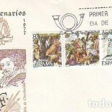 Sellos: EDIFIL 2466/8,TIZIANO (V CENTENARIO), SOBRE PRIMER DIA DE 29-3-1978 SFC. Lote 217821630
