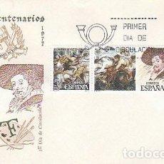 Sellos: EDIFIL 2463/5, RUBENS (V CENTENARIO), SOBRE PRIMER DIA DE 29-3-1978 SFC. Lote 217821683
