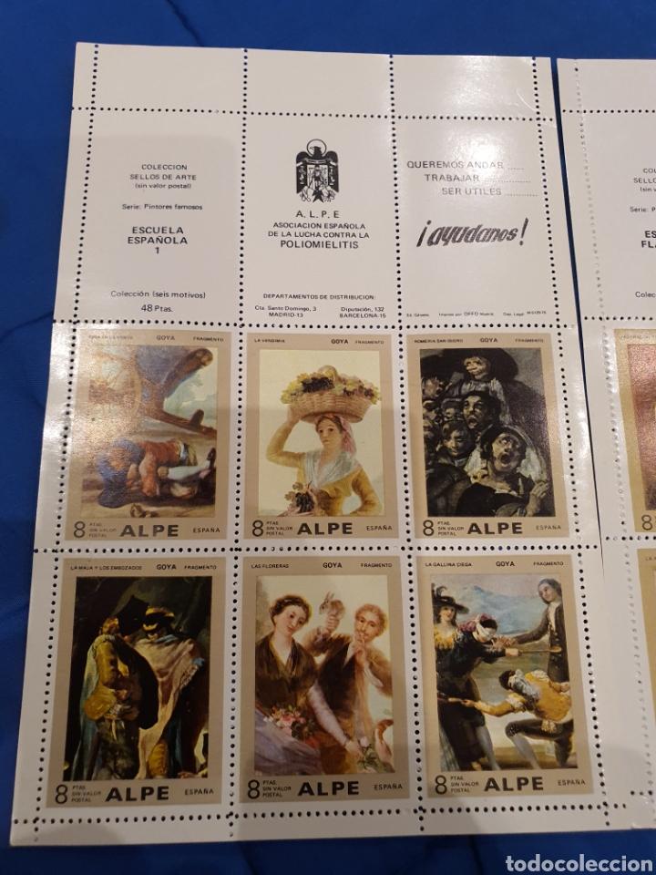 Sellos: Coleccion sellos ARTE ALPE Poliomelitis - Foto 2 - 218243265