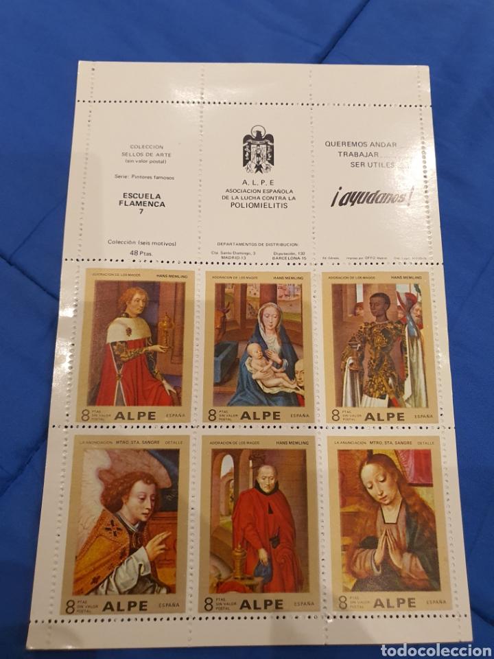 Sellos: Coleccion sellos ARTE ALPE Poliomelitis - Foto 3 - 218243265