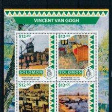 Sellos: SALOMON 2016 MICHEL 4200/3 *** ARTE - CUADROS DE VINCENT VAN GOGH - PINTURA. Lote 219276155