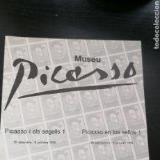 Sellos: PICASSO SELLOS 1978 ESPAÑA MUSEO DEDICADO A OBRAS. Lote 260743545