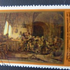 "Sellos: SELLO ""PARABLE OF THE LABORERS IN THE VINEYARD "". REMEMBRANT. 1976 RUSIA URSS CCCP. Lote 221707338"