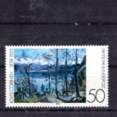 Sellos: ALEMANIA FEDERAL /1978/MNH/SC#1283-5/ PINTURAS IMPRESIONISTAS / ARTE. Lote 222236138