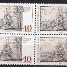 Sellos: ALEMANIA FEDERAL /1980/MNH/SC#1340/ ALBERT ALTDORFER PINTOR AND GRABADROR/ ARTE / BLOQUE. Lote 222236621