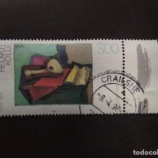 Timbres: ALEMANIA FEDERAL 1996. GERMAN PAINTINGS OF THE 20TH CENTURY. YT:DE 1677,. Lote 222950183