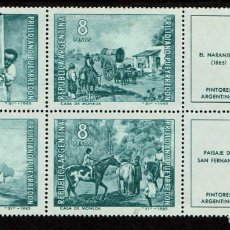 Sellos: ARGENTINA PINTORES 1965. Lote 223492856