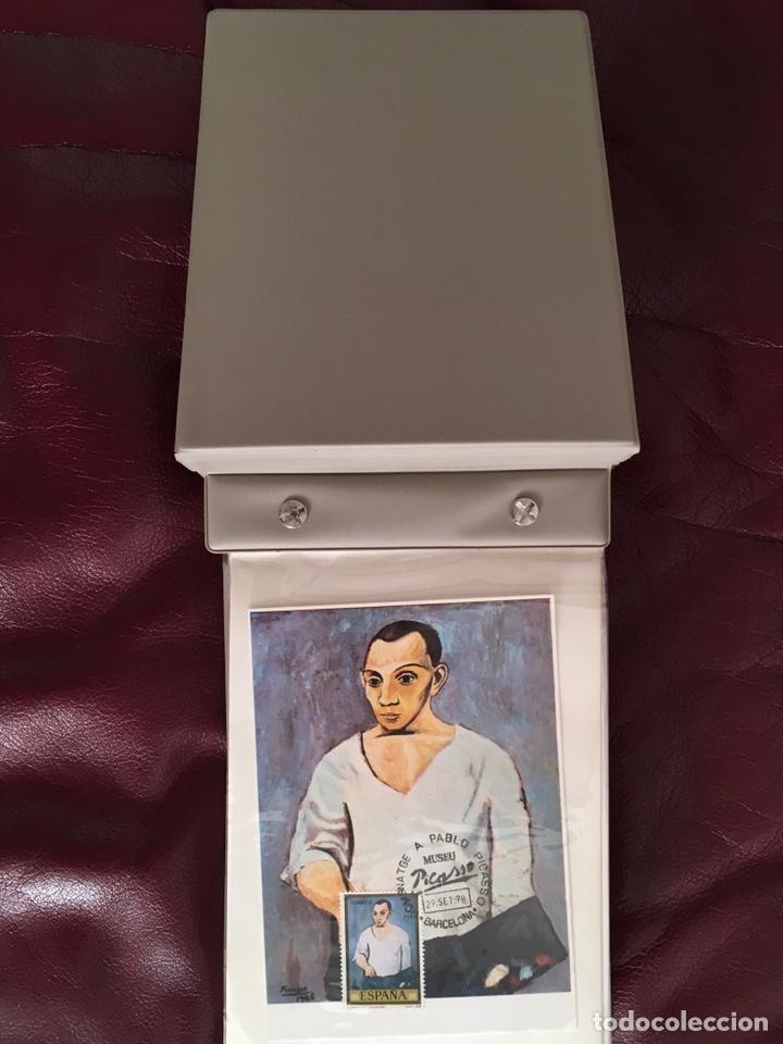 Sellos: ALBÚM DE SELLOS HOMENAJE A PABLO PICASSO DEL MUSEO DE BARCELONA 28 DE SEPTIEMBRE 1978 Y OTROS SELLOS - Foto 3 - 226230645