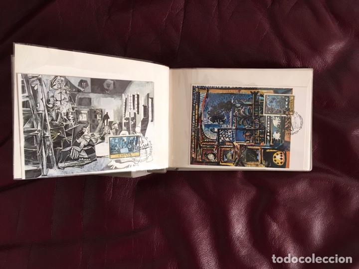 Sellos: ALBÚM DE SELLOS HOMENAJE A PABLO PICASSO DEL MUSEO DE BARCELONA 28 DE SEPTIEMBRE 1978 Y OTROS SELLOS - Foto 6 - 226230645