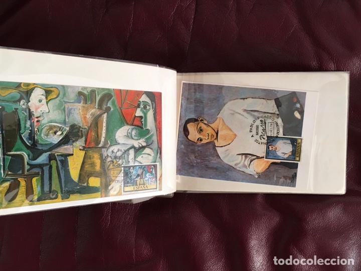 Sellos: ALBÚM DE SELLOS HOMENAJE A PABLO PICASSO DEL MUSEO DE BARCELONA 28 DE SEPTIEMBRE 1978 Y OTROS SELLOS - Foto 7 - 226230645