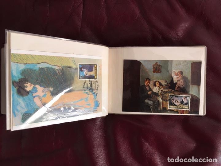 Sellos: ALBÚM DE SELLOS HOMENAJE A PABLO PICASSO DEL MUSEO DE BARCELONA 28 DE SEPTIEMBRE 1978 Y OTROS SELLOS - Foto 9 - 226230645