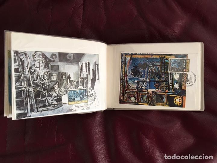 Sellos: ALBÚM DE SELLOS HOMENAJE A PABLO PICASSO DEL MUSEO DE BARCELONA 28 DE SEPTIEMBRE 1978 Y OTROS SELLOS - Foto 10 - 226230645