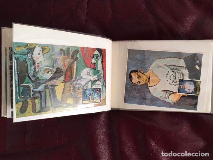 Sellos: ALBÚM DE SELLOS HOMENAJE A PABLO PICASSO DEL MUSEO DE BARCELONA 28 DE SEPTIEMBRE 1978 Y OTROS SELLOS - Foto 11 - 226230645