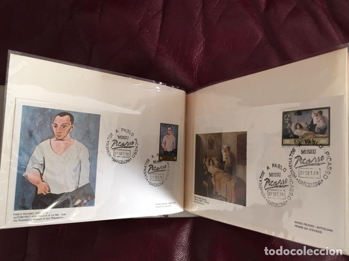 Sellos: ALBÚM DE SELLOS HOMENAJE A PABLO PICASSO DEL MUSEO DE BARCELONA 28 DE SEPTIEMBRE 1978 Y OTROS SELLOS - Foto 16 - 226230645
