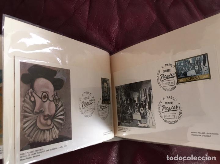 Sellos: ALBÚM DE SELLOS HOMENAJE A PABLO PICASSO DEL MUSEO DE BARCELONA 28 DE SEPTIEMBRE 1978 Y OTROS SELLOS - Foto 18 - 226230645