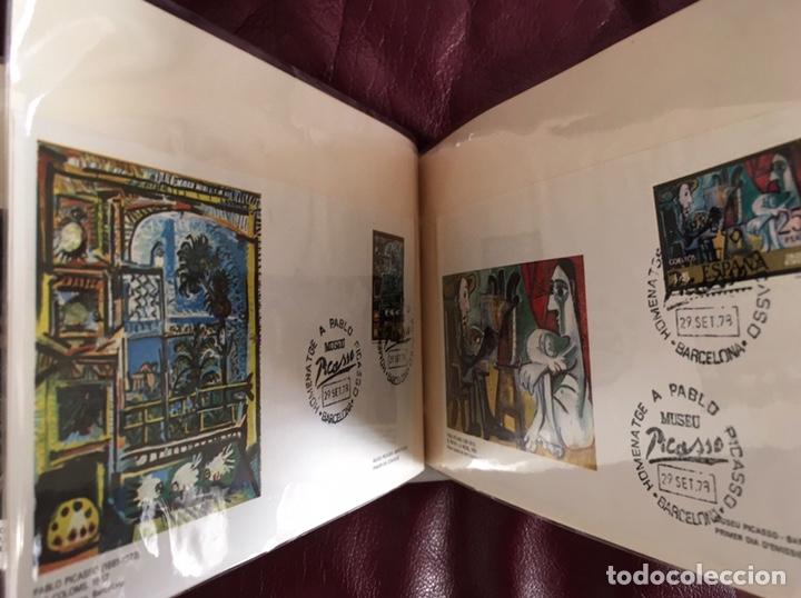 Sellos: ALBÚM DE SELLOS HOMENAJE A PABLO PICASSO DEL MUSEO DE BARCELONA 28 DE SEPTIEMBRE 1978 Y OTROS SELLOS - Foto 19 - 226230645