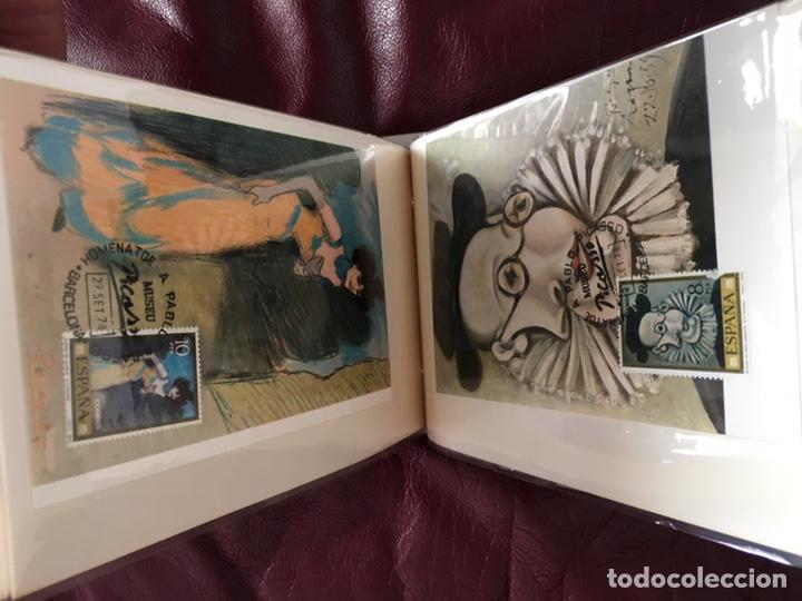 Sellos: ALBÚM DE SELLOS HOMENAJE A PABLO PICASSO DEL MUSEO DE BARCELONA 28 DE SEPTIEMBRE 1978 Y OTROS SELLOS - Foto 21 - 226230645