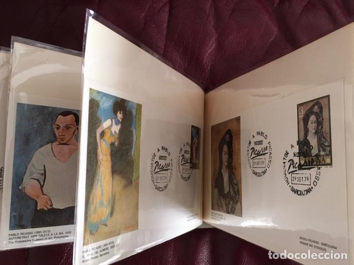 Sellos: ALBÚM DE SELLOS HOMENAJE A PABLO PICASSO DEL MUSEO DE BARCELONA 28 DE SEPTIEMBRE 1978 Y OTROS SELLOS - Foto 25 - 226230645
