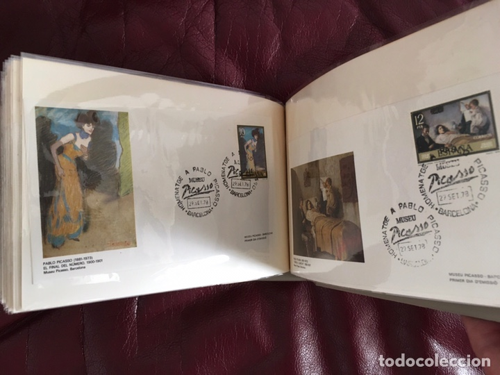 Sellos: ALBÚM DE SELLOS HOMENAJE A PABLO PICASSO DEL MUSEO DE BARCELONA 28 DE SEPTIEMBRE 1978 Y OTROS SELLOS - Foto 34 - 226230645