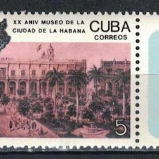 Sellos: 3257 CUBA 1988 MNH THE 20TH ANNIVERSARY OF THE HAVANA MUSEUM. Lote 228166300