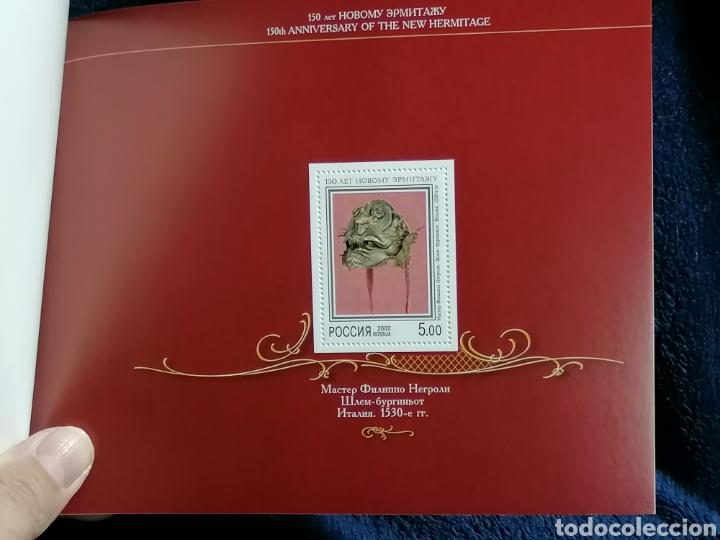 Sellos: Rusia Carnet 2002 museo Hermitage serie completa y HB nuevo ** todo completo - Foto 6 - 229233270