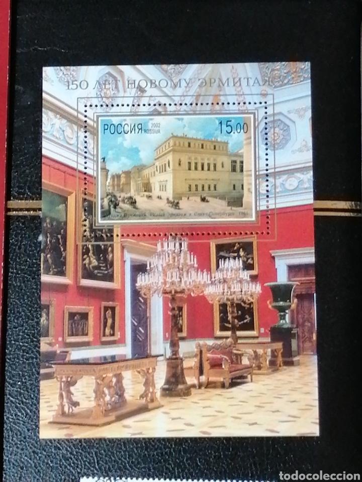 Sellos: Rusia Carnet 2002 museo Hermitage serie completa y HB nuevo ** todo completo - Foto 7 - 229233270