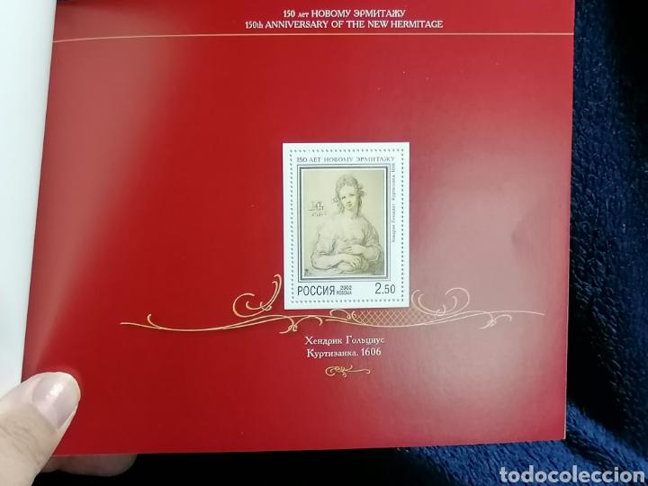 Sellos: Rusia Carnet 2002 museo Hermitage serie completa y HB nuevo ** todo completo - Foto 5 - 229233270