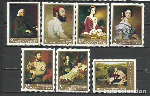 Q700D-SERIE COMPLETA NUEVA HUNGRIA ARTE PINTURAS 1967 Nº 1896/1902 (Sellos - Temáticas - Arte)