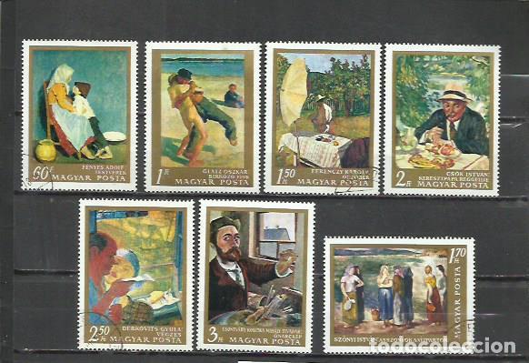 Q700E-SERIE COMPLETA NUEVA HUNGRIA ARTE PINTURAS 1967 Nº 1931/7 (Sellos - Temáticas - Arte)