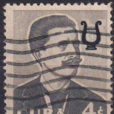Sellos: 583-14 CUBA 1958 U FAMOUS CUBANS - IGNACIO CERVANTES. Lote 238902920