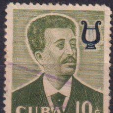 Sellos: 583-15 CUBA 1958 U FAMOUS CUBANS - JOSE WHITE. Lote 238903300