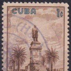 Sellos: 654-3 CUBA 1960 U MONUMENT OF THE FIRST PRESIDENT TOMAS ESTRADA PALMA. Lote 238903430