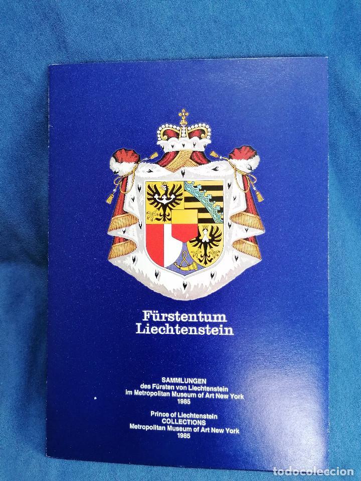 Sellos: Arte Pintura Sellos Liechestein en set Oficial precioso set de Exposicion - Foto 3 - 241203540