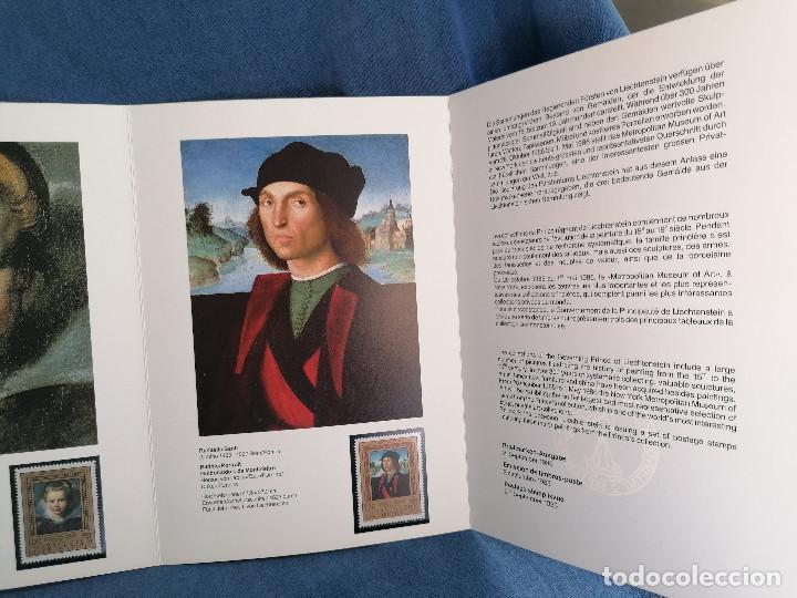 Sellos: Arte Pintura Sellos Liechestein en set Oficial precioso set de Exposicion - Foto 5 - 241203540