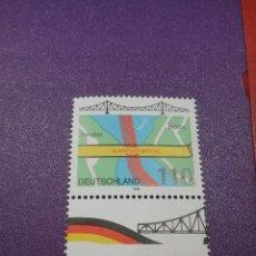 Sellos: SELLOS ALEMANIA, R. FEDERAL NUEVOS/1998/PUENTEN/GLIENICHER/ARQUITECTURA/RIO/PLANO/ARTE/MAPA/. Lote 243653280