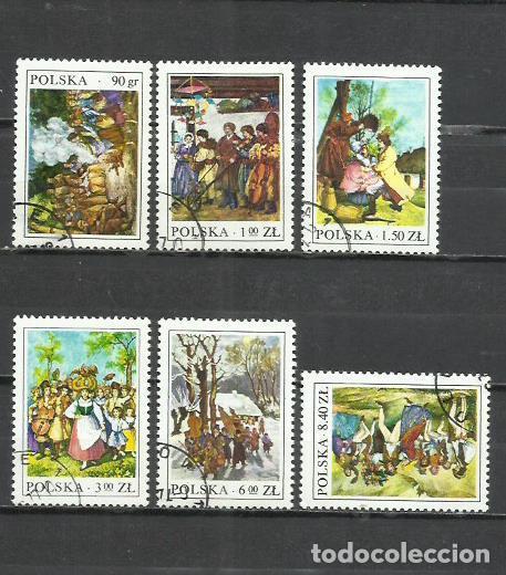 2705-POLONIA SERIE COMPLETA PINTURA ARTE 1977 Nº 2338/43, MUY BONITOS (Sellos - Temáticas - Arte)
