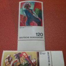 Sellos: SELLO ALEMANIA R. FEDERAL NUEVOS/1974/PINTURA/ARTE/CUADRO/EXPRESIONISMO/NATURALEZA/MUERTA/ANCIANO/. Lote 245458750