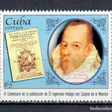 Timbres: ⚡ DISCOUNT CUBA 2005 THE 400TH ANNIVERSARY OF THE PUBLICATION OF DON QUIJOTE DE LA MANCHA MNH. Lote 251552920