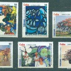 Sellos: ⚡ DISCOUNT CUBA 2009 ART IN HOTELS & RESTAURENTS IN HAVANA NG - ART. Lote 253850300