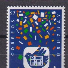 Sellos: ⚡ DISCOUNT URUGUAY 1999 THE 50TH ANNIVERSARY OF THE EL GALPON THEATRE MNH - THEATER. Lote 253856470