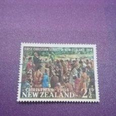 Sellos: SELLO NUEVA ZELANDA MTDO(+/- S. BISAGRA)/1964/NAVIDADES/ARTE/PINTURA/CUADRO/MISA/NATIVOS/RELIGION/. Lote 254060150