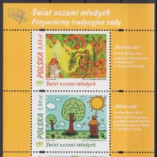 Sellos: ⚡ DISCOUNT POLAND 2019 WORLD THROUGH THE EYES OF YOUNG PEOPLE MNH - PICTURE. Lote 255656985