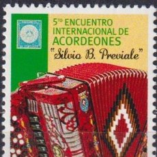 Sellos: ⚡ DISCOUNT URUGUAY 2014 THE 5TH ACCORDIONS INTERNATIONAL MEETING MNH - MUSICAL INSTRUMENTS. Lote 262874255