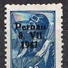 Sellos: OCUPACIÓN ALEMANA DE PERNAU (ESTONIA) NUEVO ***. Lote 263189855