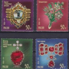 Sellos: ⚡ DISCOUNT RUSSIA 2020 TREASURES OF RUSSIA. 100 YEARS OF THE GOKHRAN OF RUSSIA MNH - ART, JE. Lote 266237283