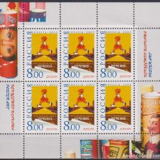 Sellos: ⚡ DISCOUNT RUSSIA 2003 POSTER ART MNH - ART. Lote 266261498
