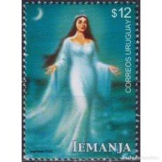 Sellos: ⚡ DISCOUNT URUGUAY 2003 GODDESS LEMANJA MNH - RELIGION, GODDESS. Lote 268836214