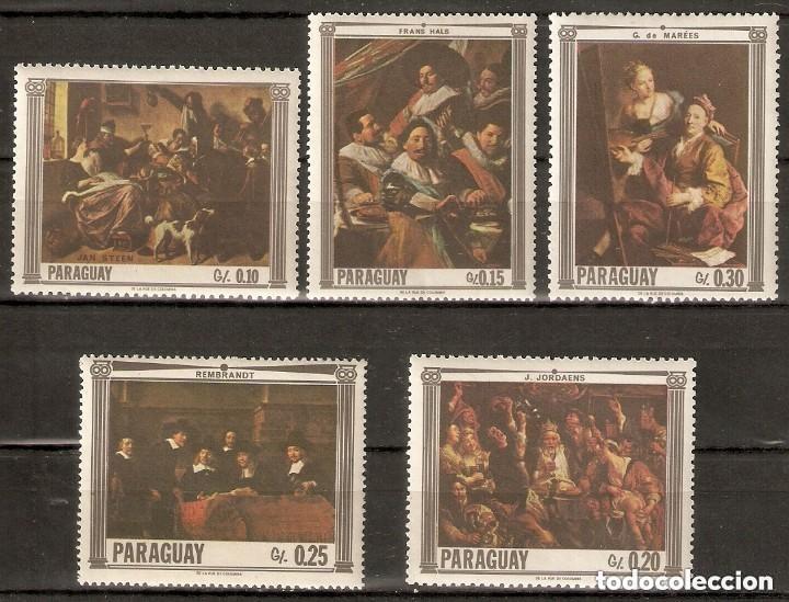 PARAGUAY.1967. PINTURAS. ARTE (Sellos - Temáticas - Arte)