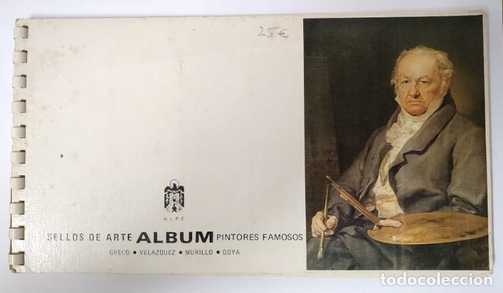 Sellos: Album de sellos - Pintores Famosos - Alpe - Foto 2 - 270569413